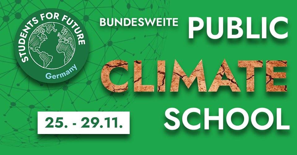 Public Climate School November 25-29