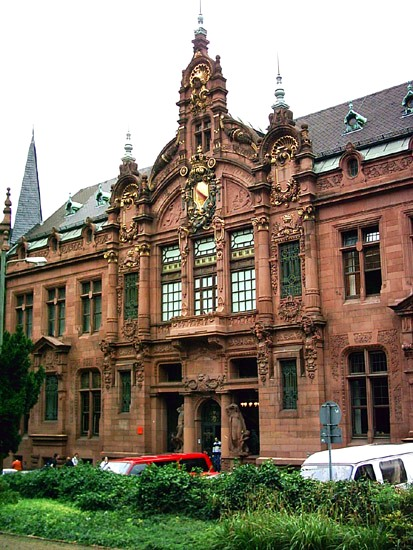 UB Altstadt Eingang Fridays for Future Heidelberg