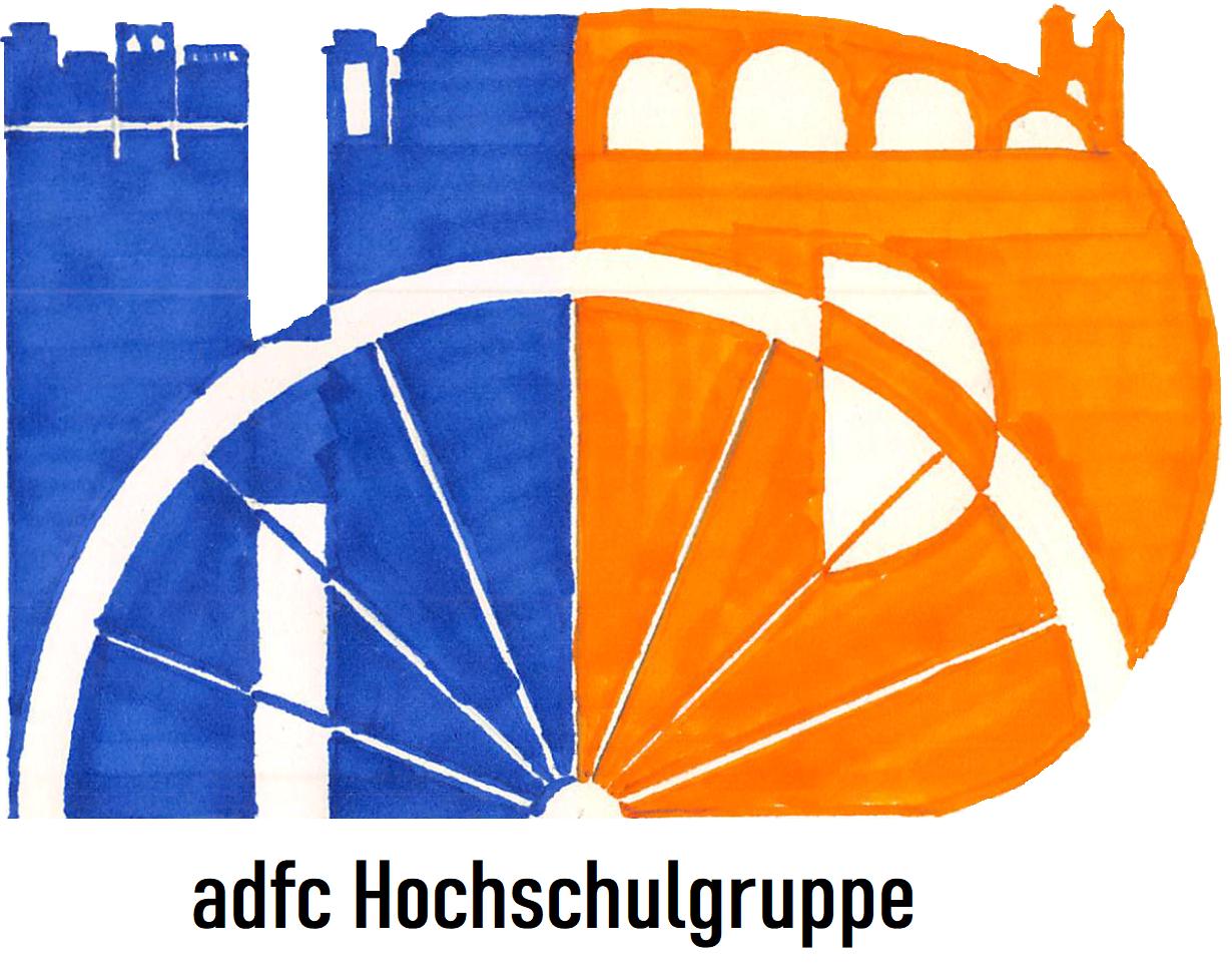 Logo der ADFC-Hochschulgruppe Heidelberg