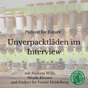 Podcast – Plastikfrei einkaufen in Heidelberg