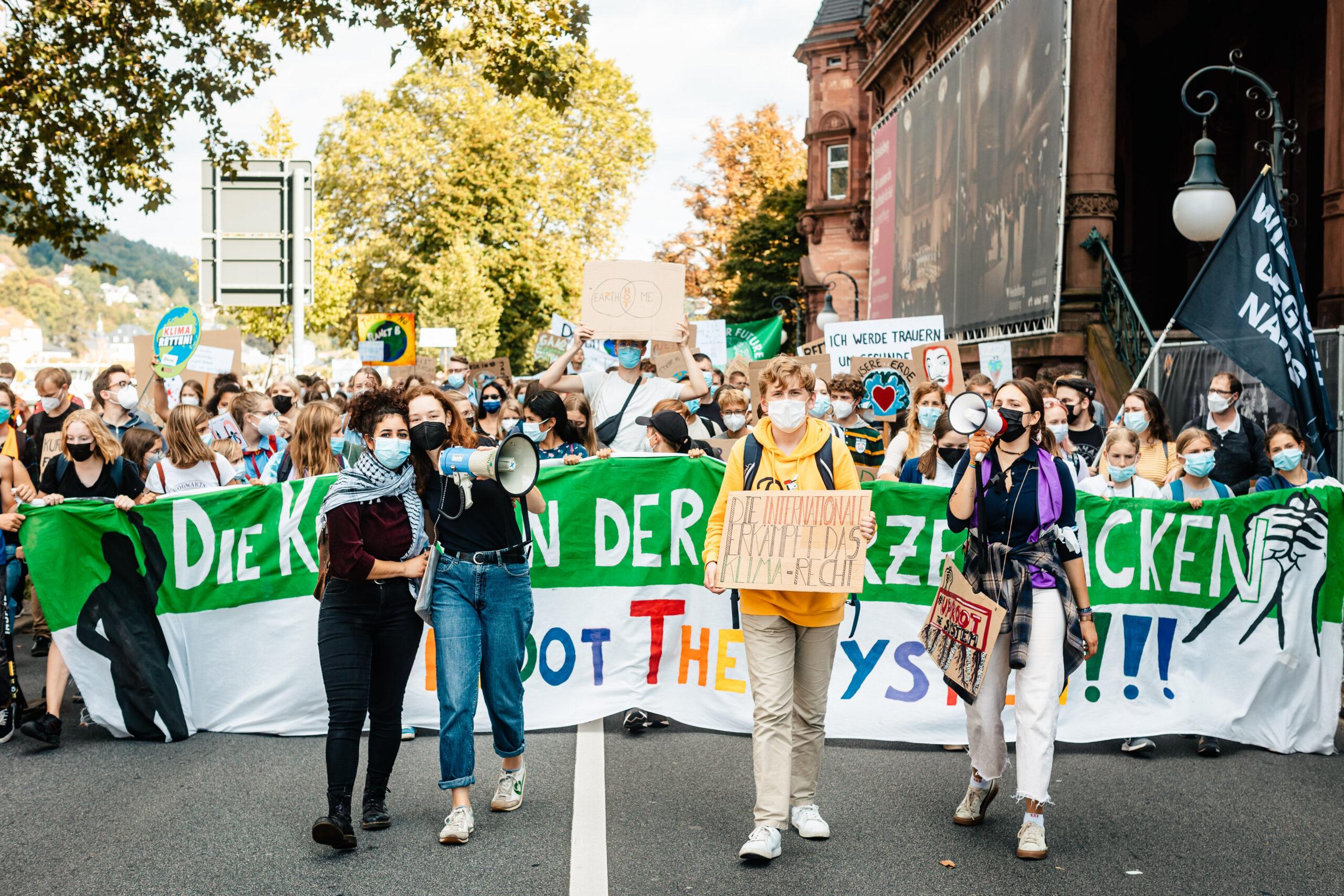 Über 4.000 Menschen bei globalem Klimastreik in Heidelberg